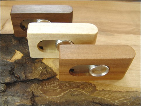 Wooden Design Flash Drive Model Stash